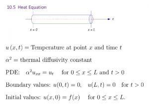 10 5 Heat Equation 10 5 Heat Equation
