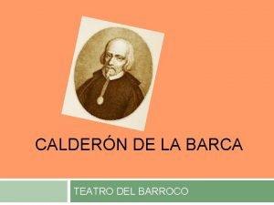 CALDERN DE LA BARCA TEATRO DEL BARROCO Pedro