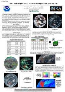 24 Feb 2015 Poster TrueColor Imagery for GOESR