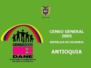 DEPARTAMENTO ADMINISTRATIVO NACIONAL DE ESTADISTICA 5 Libertad y