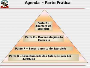 Agenda Parte Prtica Parte D Abertura do Exerccio