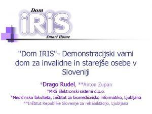 Dom IRIS Demonstracijski varni dom za invalidne in