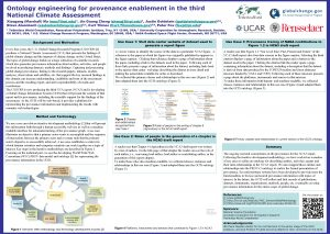 Ontology engineering for provenance enablement in the third