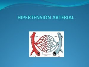 HIPERTENSIN ARTERIAL Presin arterial Es la fuerza que