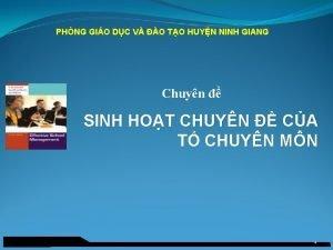 PHNG GIO DC V O TO HUYN NINH
