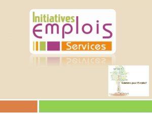 Association loi 1901 cre fin 2011 Initiatives Emplois