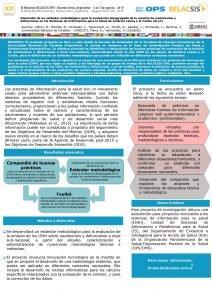 XX Desarrollo de un estndar metodolgico para la