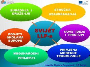 STRUNA USAVRAVANJA SURADNJA I DRUENJE POSJETI KOLAMA EUROPE