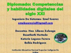 Diplomado Competencias y habilidades digitales del siglo XXI