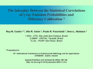 The Interplay Between the Statistical Correlations of gray