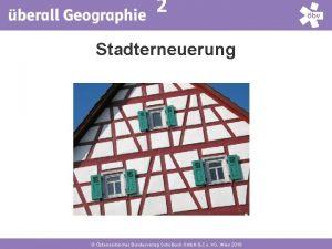 4 2 Stadterneuerung sterreichischer Bundesverlag Schulbuch Gmb H