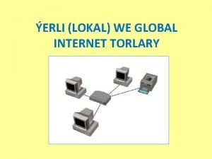 ERLI LOKAL WE GLOBAL INTERNET TORLARY ERLI LOKAL