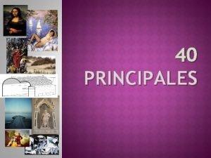 40 PRINCIPALES LEONARDO DA VINCI Leonardo di Ser