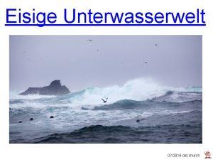 Eisige Unterwasserwelt 072018 oldchurch Der Meeresbiologe und Fotograf