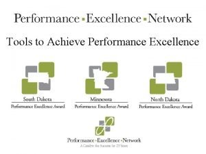 Tools to Achieve Performance Excellence PDCA A Place