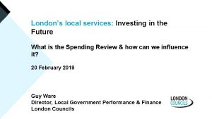 www londoncouncils gov uk Londons local services Investing