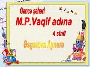 Fnn Mvzu Standart Azrbaycan dili Bayramz 2 1