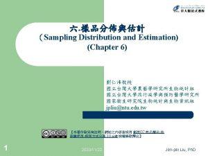 l l 2 Sampling Distribution Central Limit Theorem