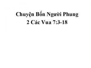 Chuyn Bn Ngi Phung 2 Cc Vua 7