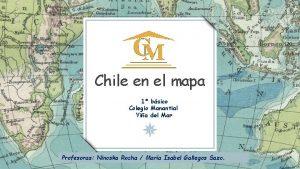Chile en el mapa 1 bsico Colegio Manantial