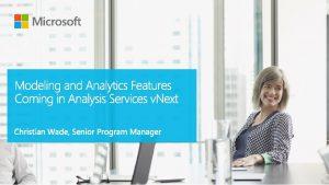 Microsoft BI Platform Model DATA Azure Analysis Services