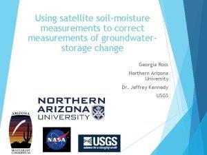 Using satellite soilmoisture measurements to correct measurements of