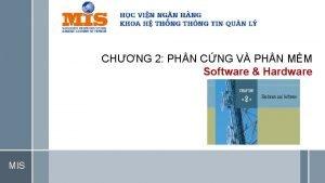 CHNG 2 PHN CNG V PHN MM Software