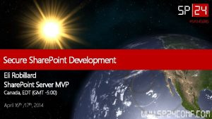 SP 24 S 045 Secure Share Point Development