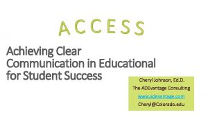 Achieving Clear Communication in Educational for Student Success