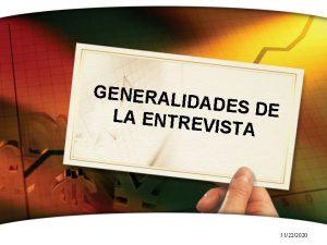 GENERAL IDADES DE LA ENTRE VISTA 11222020 Etapas