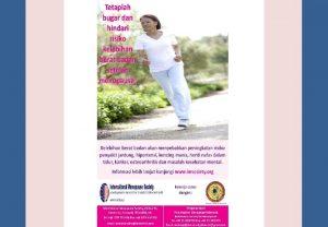 Tetaplah bugar hindari kelebihan berat badan setelah menopause