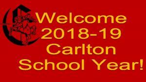 Carlton Comprehensive Public High School Tuesday Sept 4