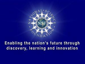 NSF NSF Biological Sciences Muriel Poston Ph D