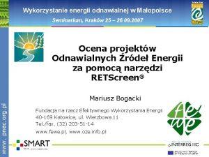 www pnec org pl Polska Sie Wykorzystanie energii