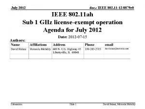 July 2012 doc IEEE 802 11 120879 r