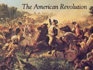By 1776 American colonists were divided into 3
