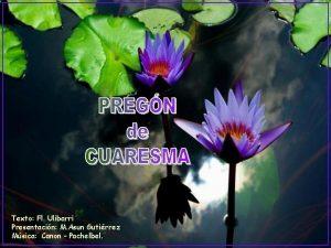 Texto Fl Ulibarri Presentacin M Asun Gutirrez Msica