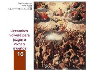 BACKER Jacob de El Juicio Final c 1580