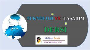 TEKNOLOJI VE TASARIM DERSI TEMEL TASARIM TEMEL TASARIM