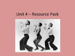 Unit 4 Resource Pack Course Guide Assessment for