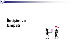 letiim ve Empati letiim Nedir n Dnce bilgi