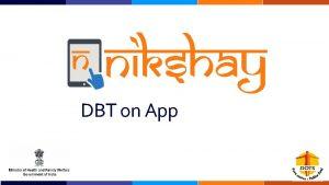 DBT on App The DBT Module is now