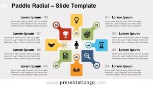 Paddle Radial Slide Template Lorem Ipsum 08 Lorem