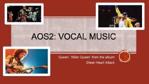Queen Killer Queen from the album Sheer Heart