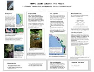 PSMFC Coastal Cutthroat Trout Project K E Griswold