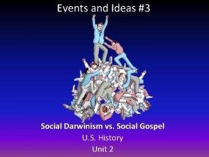 Events and Ideas 3 Social Darwinism vs Social