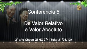 Conferencia 5 De Valor Relativo a Valor Absoluto