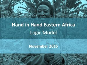 Hand in Hand Eastern Africa Logic Model November