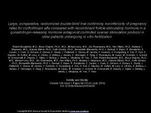 Large comparative randomized doubleblind trial confirming noninferiority of