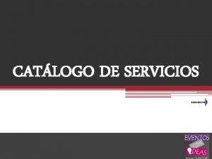 CATLOGO DE SERVICIOS CLSICOS DEPORTIVOS ORIGINALES Contrataciones Tel